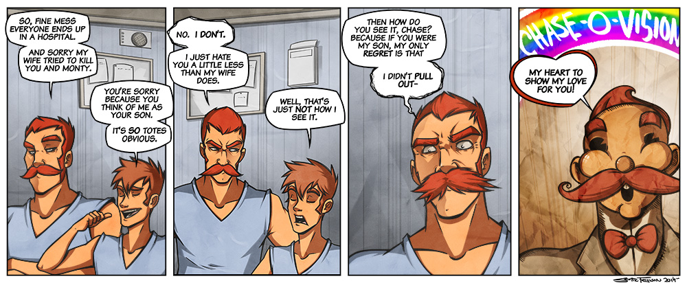 Panel 4 is the face I make when I poop VICIOUSLY.